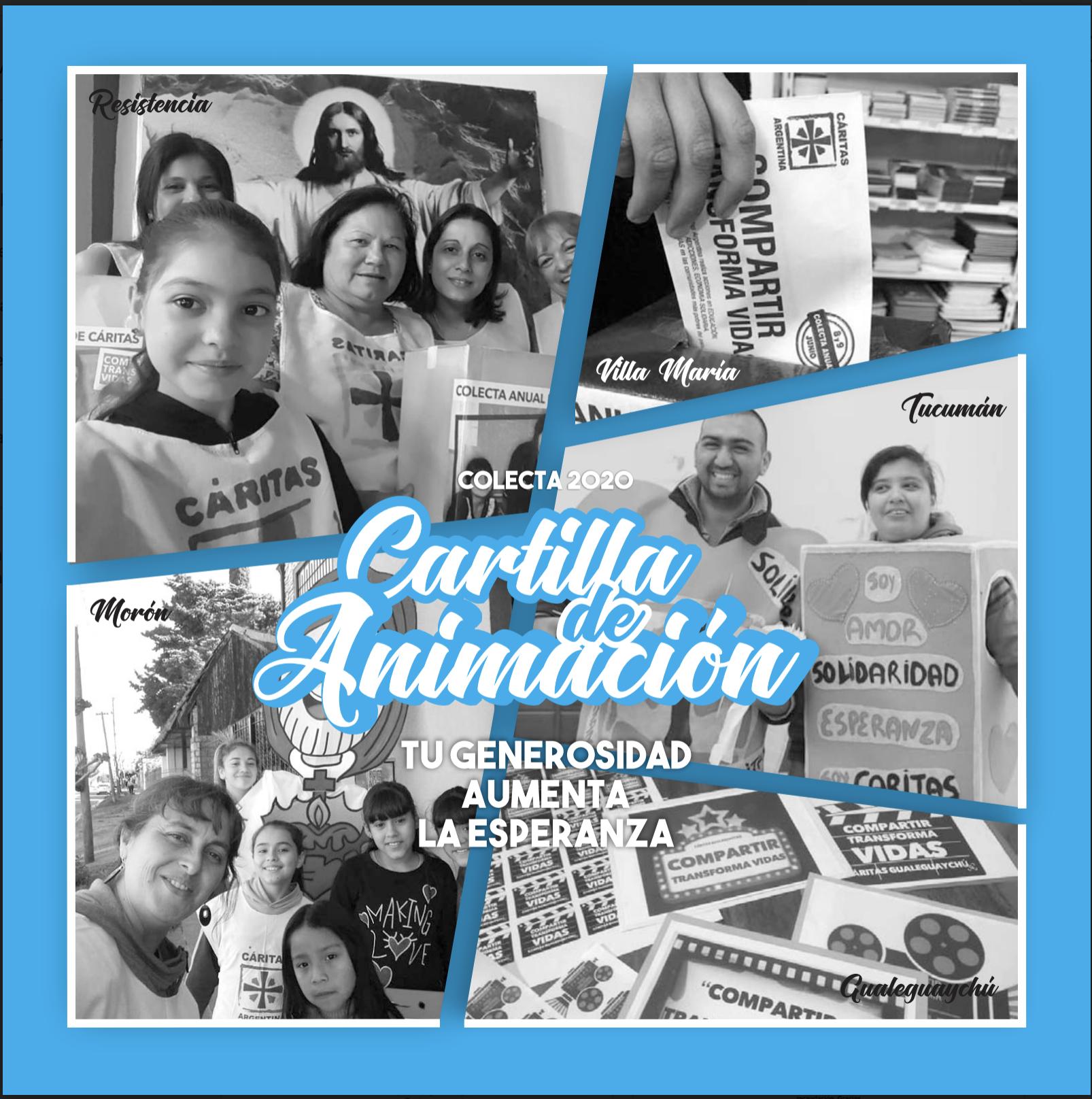 Cartilla de Animación para la Colecta Anual de Cáritas