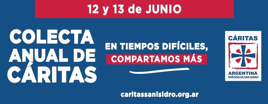 COMENZÓ LA SEMANA DE LA COLECTA DE CÁRITAS 2021